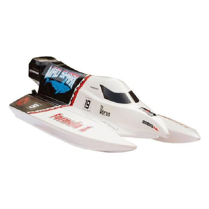 RC RADIOCOMMANDE MAD SHARK BRUSHLESS RTR Achat / Vente bateau sous