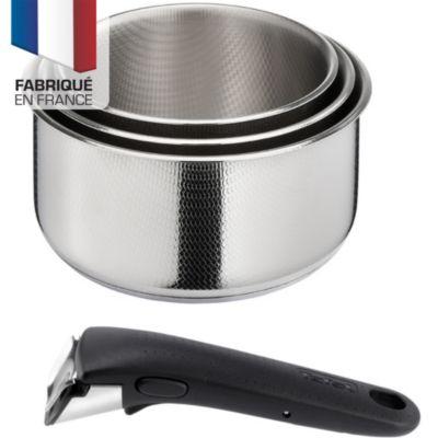 Batterie de casseroles Tefal Ingenio Création Cass. 16/18/20