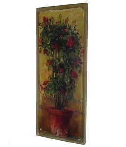 style ancien tableau cadre toile peinture imprimée sur toile de jute