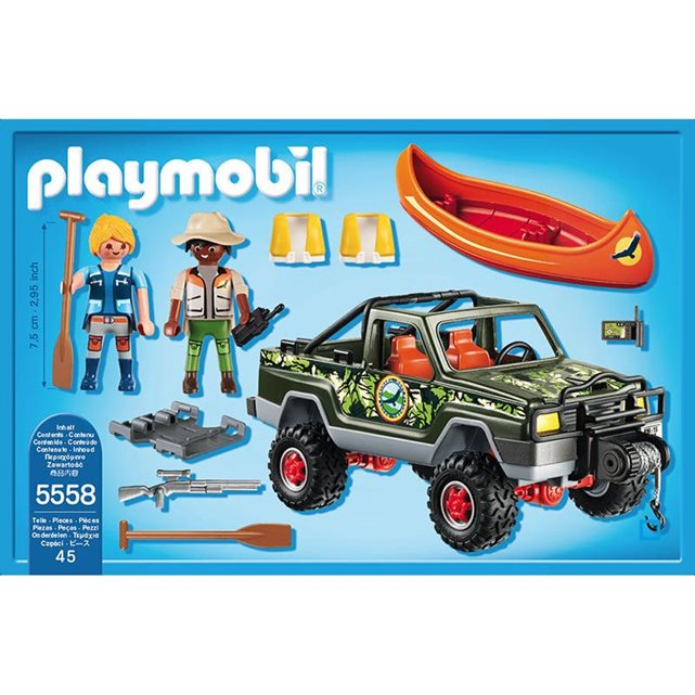 Pick up des aventuriers pla5558 couleur unique Playmobil | La