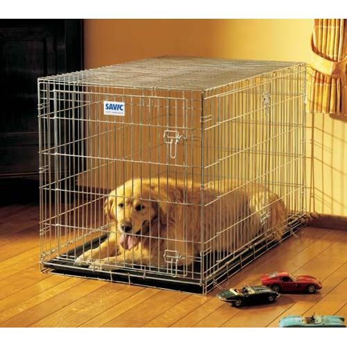 cage pour chien topiwall. Black Bedroom Furniture Sets. Home Design Ideas