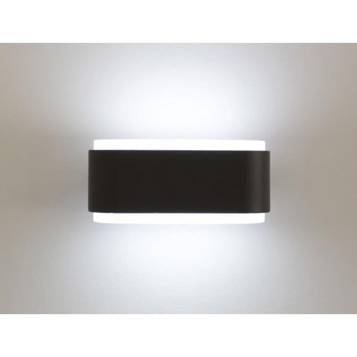 Applique murale LED SITKA Wall darkgrey gris foncé IP44