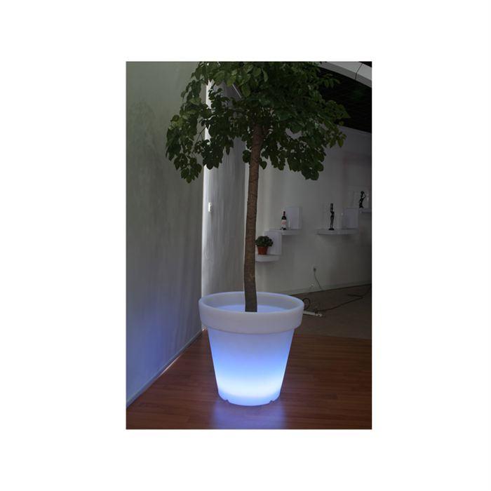 Cache pot lumineux à leds 50 cm Achat / Vente Cache pot lumineux à