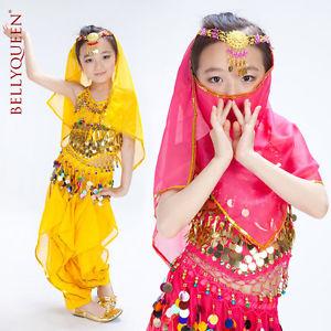 danse Orientale ENFANT FILLE 6 9 ANS haut pantalon Ensemble du ventre