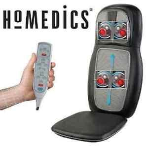 Siege De Massage HoMedics SBM 500HA 3GB SMB 500HA 2EU Shiatsu 2 En 1