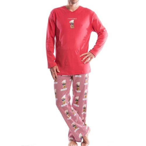 Pyjama chaud Arthur: Tee shirt c? ROUGE Achat / Vente pyjama