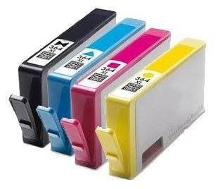 Cartouches d'encre HP364 avec puce compatibles Deskjet 3070 A 3520