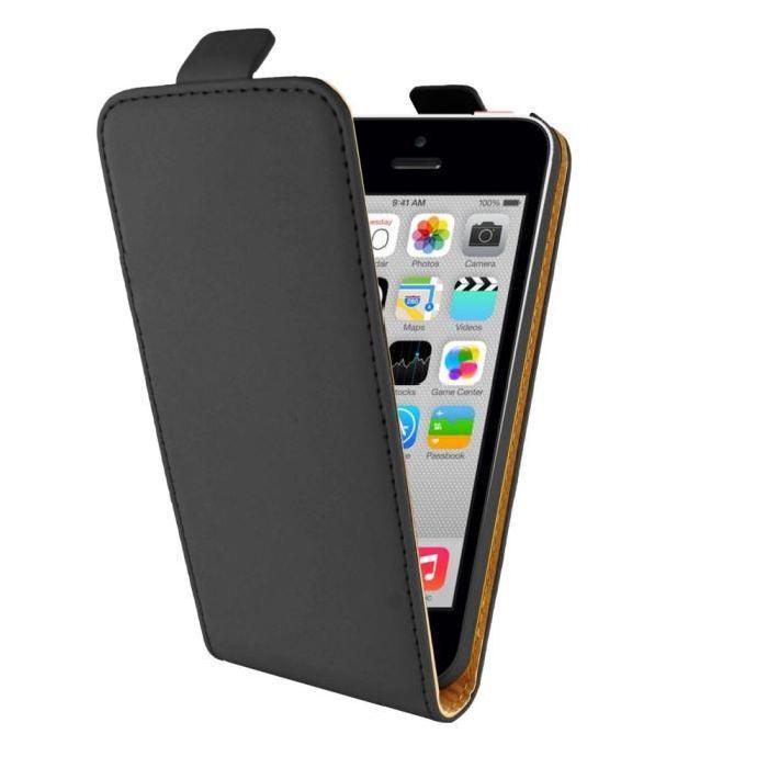 Etui iPhone 5C Achat / Vente Etui NOIR pour IPHONE 5C