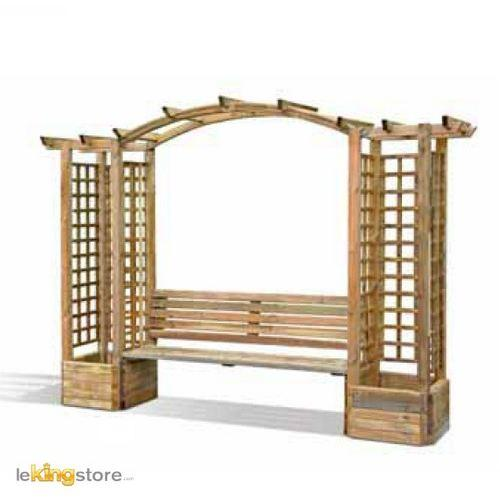 pergola en bois topiwall. Black Bedroom Furniture Sets. Home Design Ideas