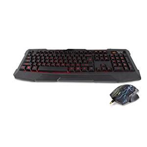 Nemesis Kane Edition Pro LED Gaming clavier / souris USB Combo Pack