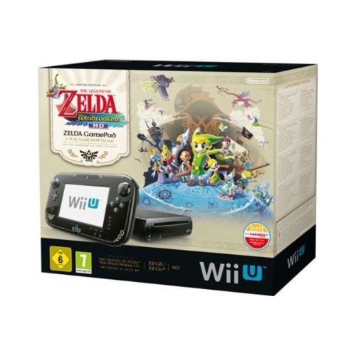 Console Nintendo Wii U Premium Zelda Wind Waker Hd pas cher