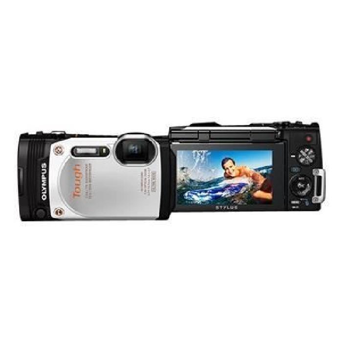 OLYMPUS TG 860 Blanc Achat / Vente appareil photo compact