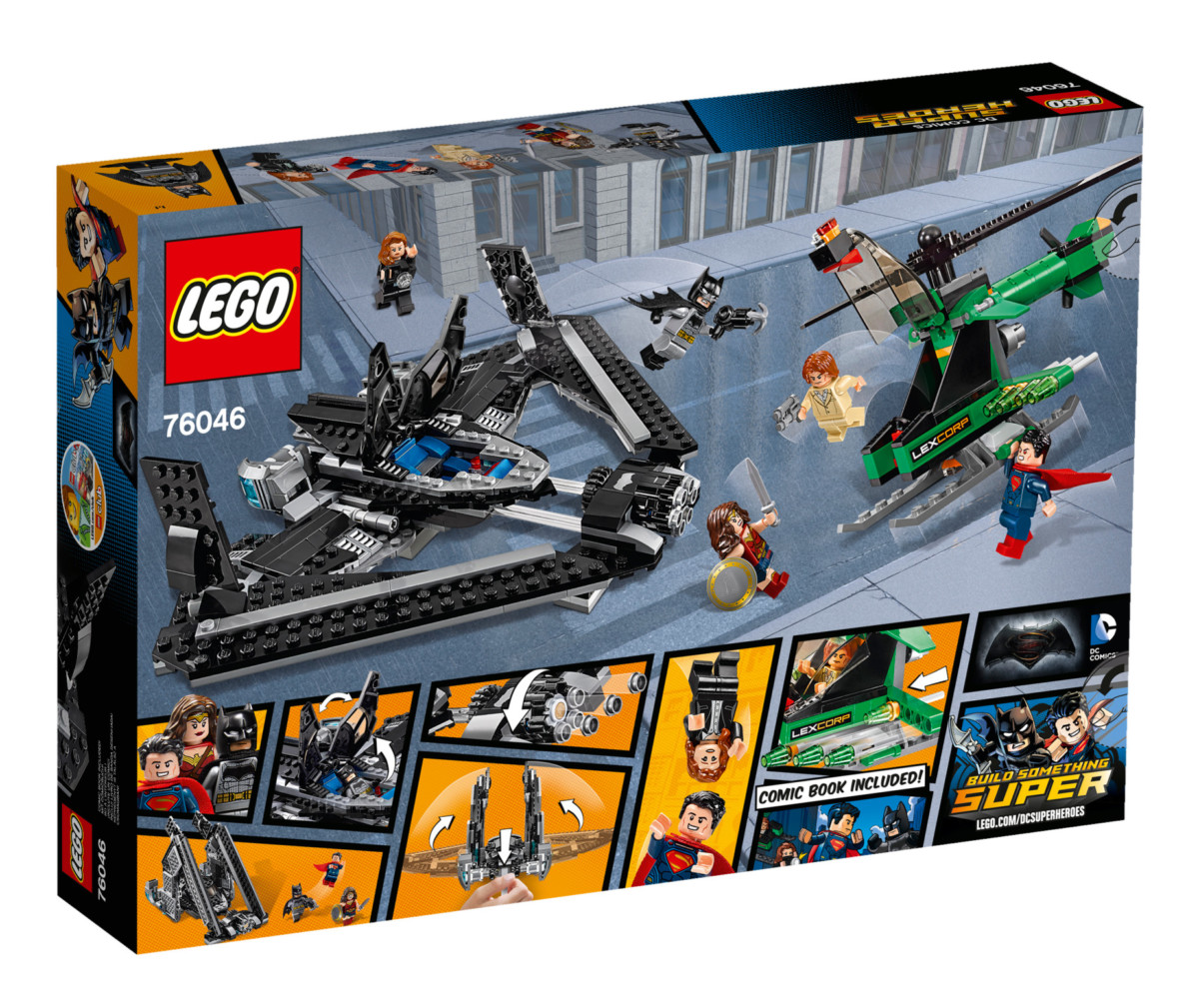 LEGO® Super Heroes DC Universe Batman Vs Superman 76046 Les Héros