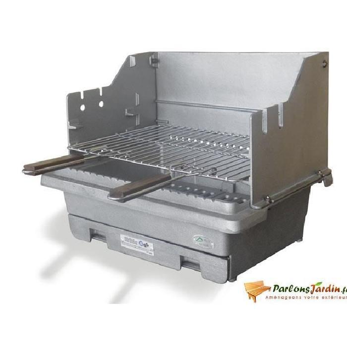 Barbecue à charbon de bois en fonte Carbonne Achat / Vente barbecue