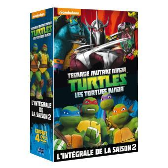 Les Tortues Ninja Les Tortues Ninja Saison 2 Volumes 5 à 8 Coffret