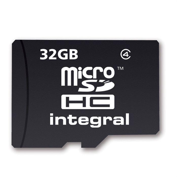 Integral carte MicroSD 32 Go classe 4 Achat / Vente carte mémoire