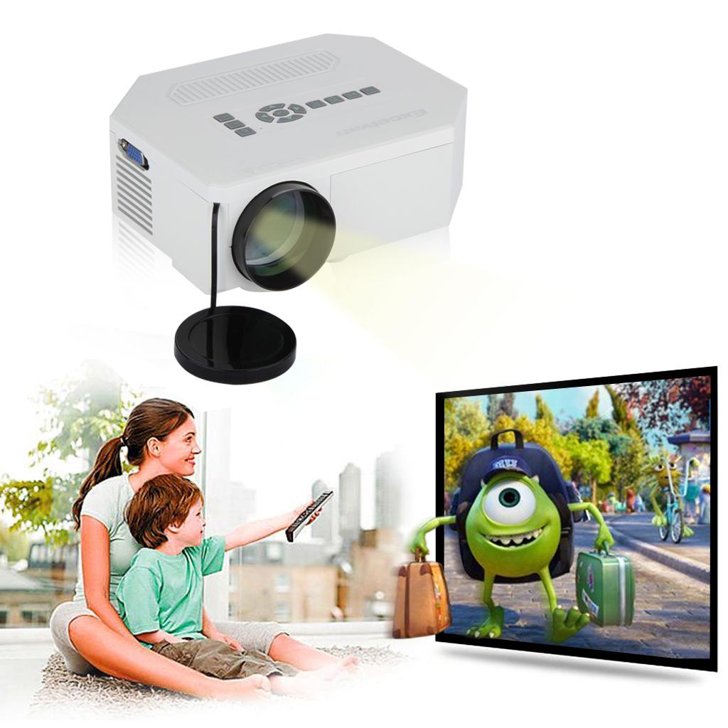 LED/LCD 1080P HD Vidéoprojecteu r Portable Home Cinéma Multimédia