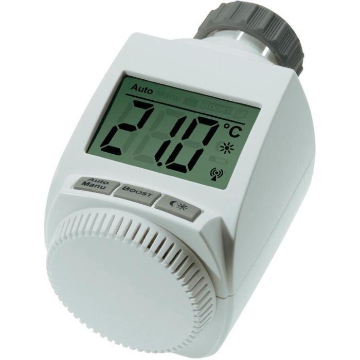 Thermostat de radiateur eQ 3 MAX blanc Réglez la température de la