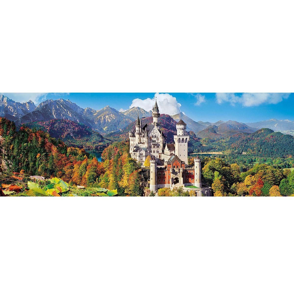 Puzzle Panoramique 1000 pièces : Château de Neuschwanstein