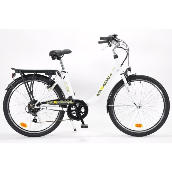 MAKADAM Vélo électrique E TOWN 36V/6,45Ah Mixte Achat / Vente