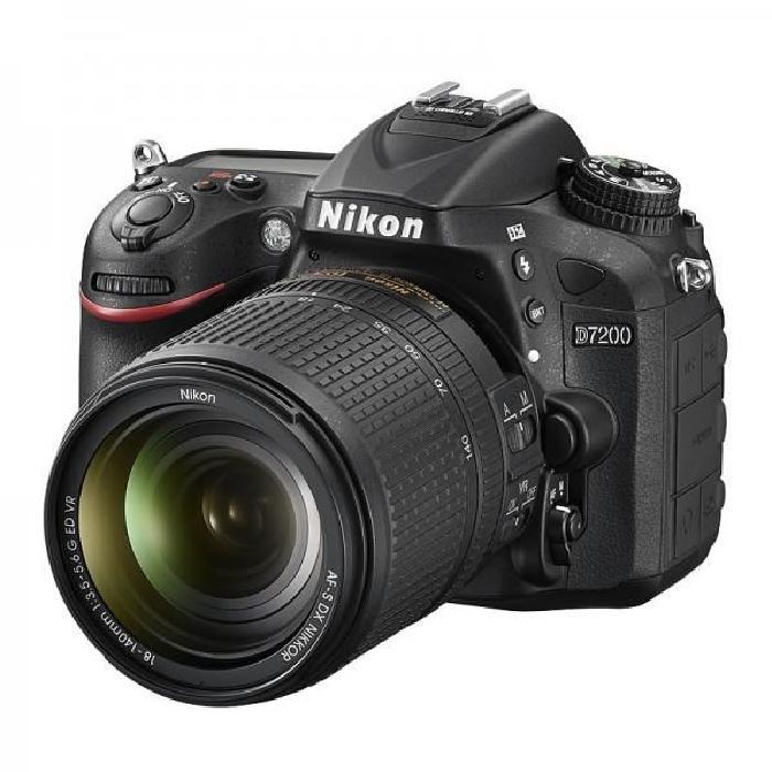 NIKON D7200 + Objectif AF S DX 18 140 mm f/3.5 5.6 Achat / Vente