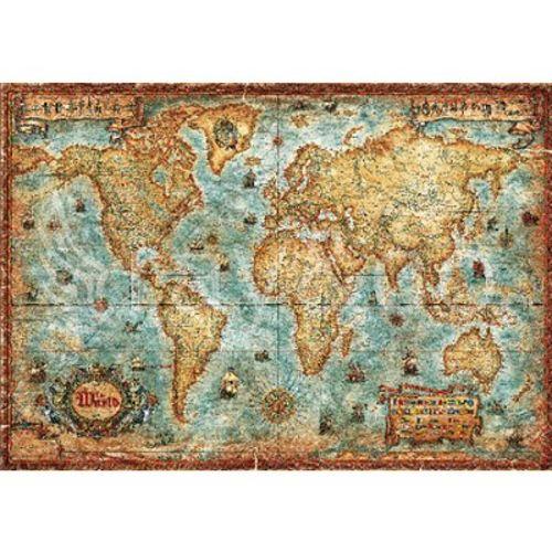 Heye Puzzle 3000 pièces Carte du monde pas cher Achat / Vente