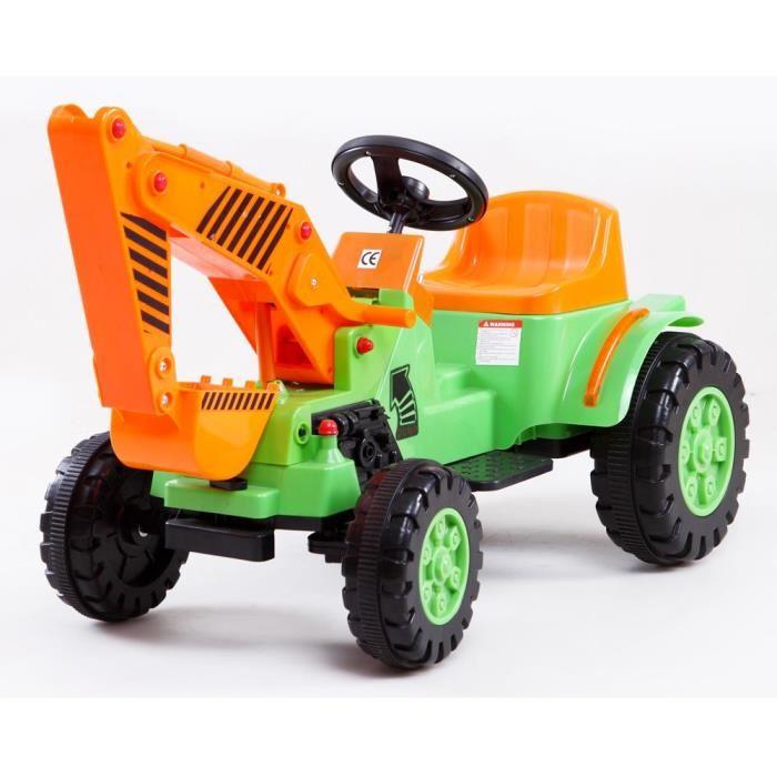 Tracteur electrique topiwall - Tracteur remorque enfant ...