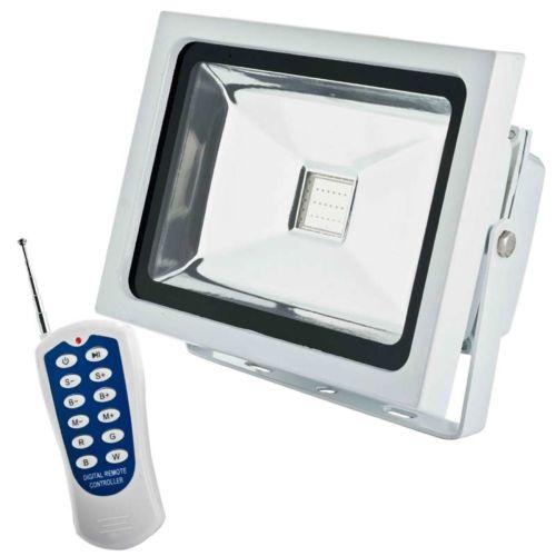Projecteur led piscine topiwall for Telecommande eclairage exterieur