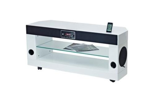 Meuble TV Soundvision SV 300W BLANC SV300W (3691977)