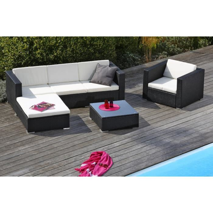 fauteuil de jardin en resine tressee topiwall. Black Bedroom Furniture Sets. Home Design Ideas