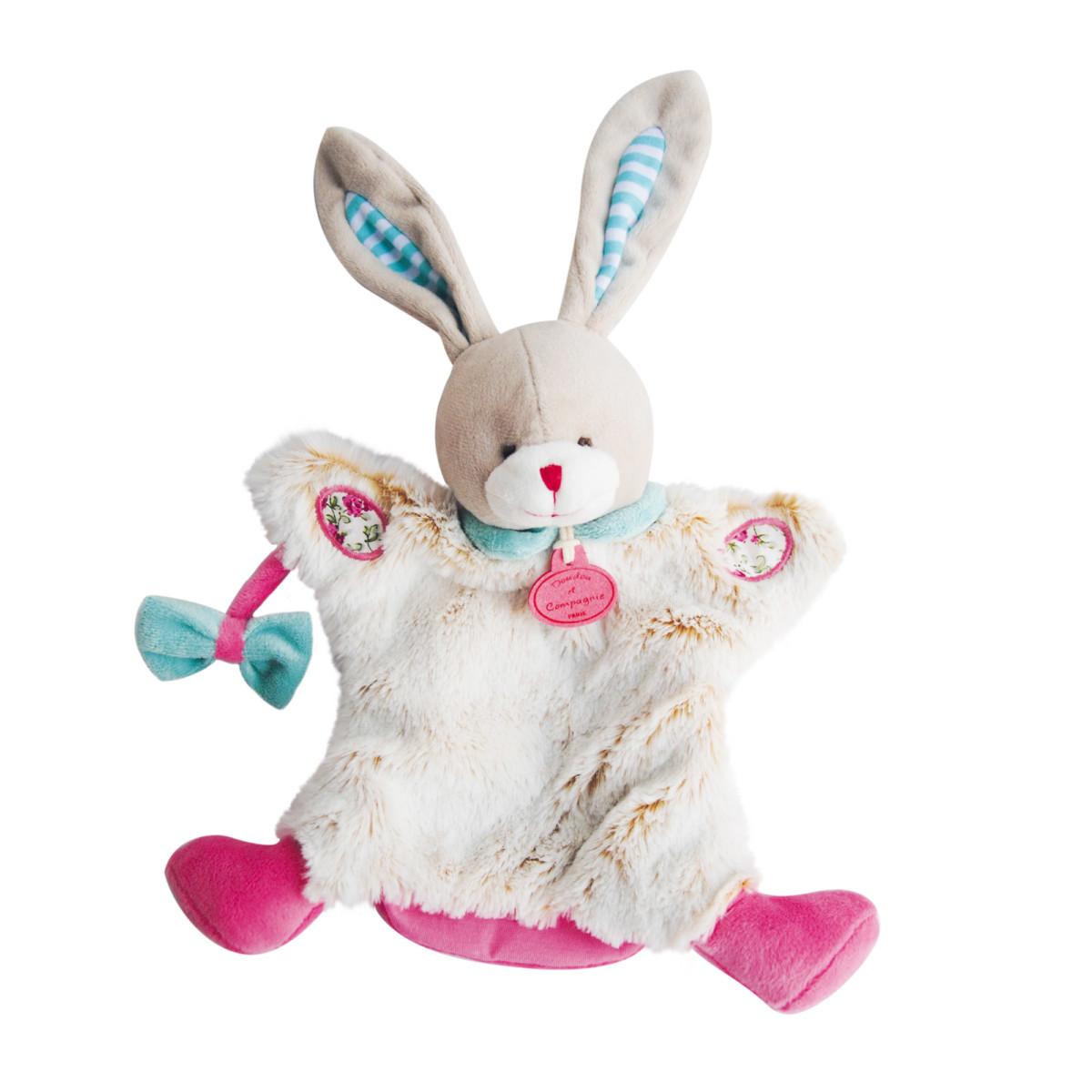 Gris, Ours de Doudou et compagnie, Peluches marionnettes : Aubert