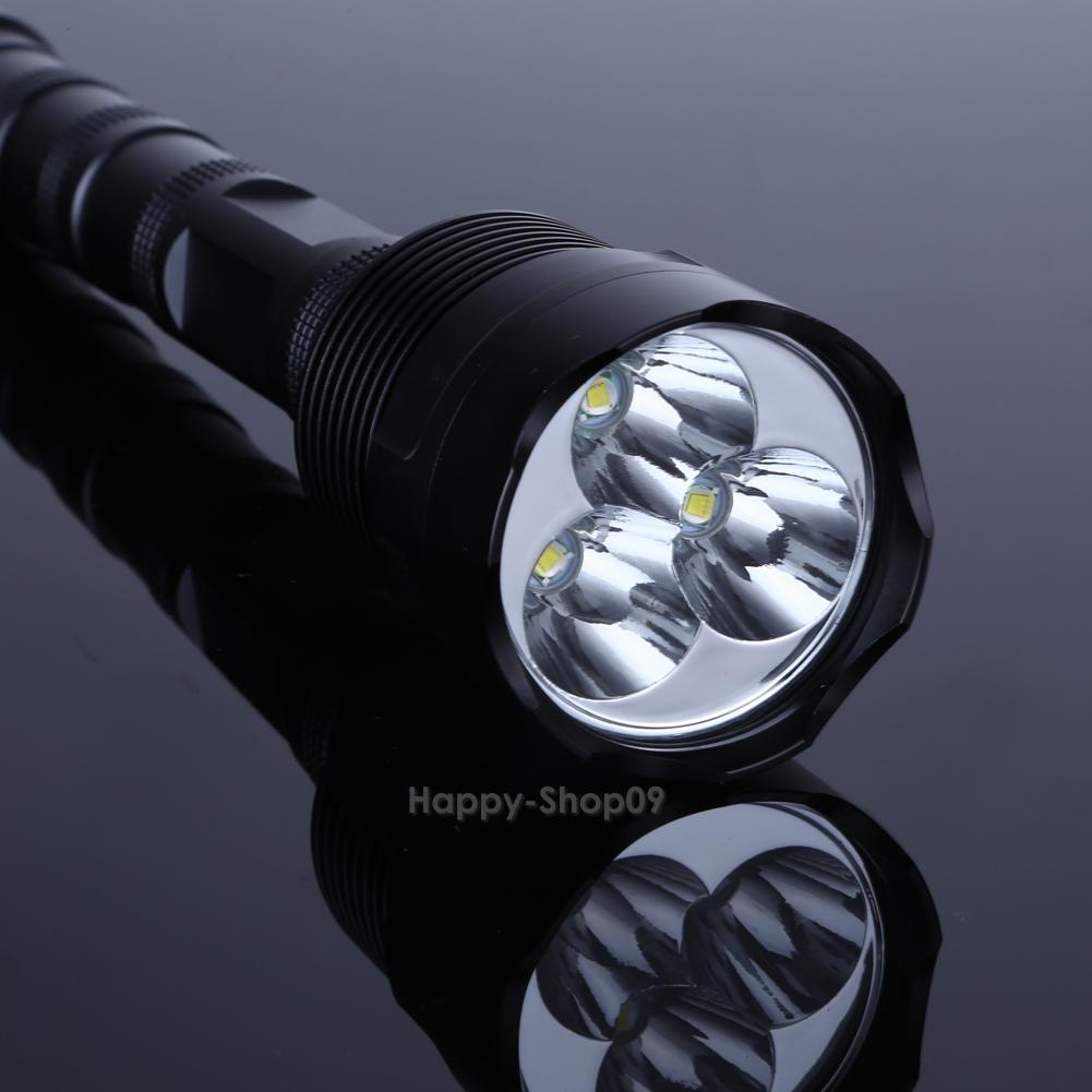 8000 Lumen 7X Cree XM L T6 LED Zoomable Lampe de Poche