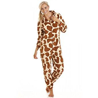 Grenouillère imprimé girafe femme 44/46: Vêtements et