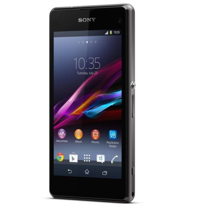 SONY Xperia Z1 Compact Noir smartphone, prix pas cher