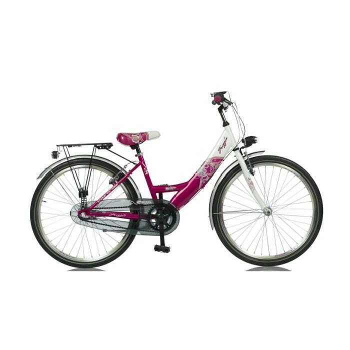 Vélo fille FRIZZLE 24 pouces Prix pas cher