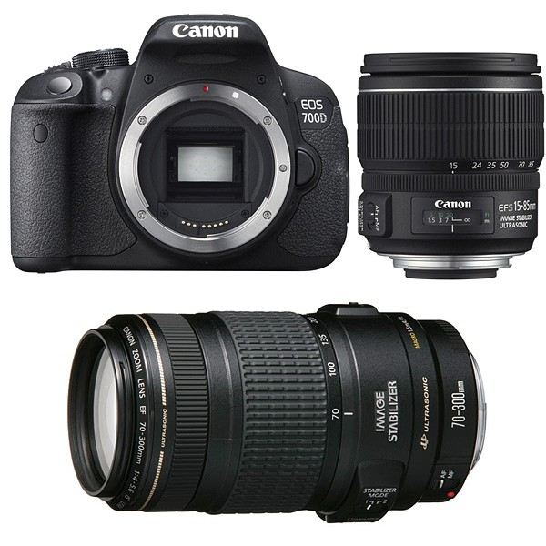 CANON EOS 700D + Objectif EF S 15 85 mm f/3,5 5? Achat / Vente