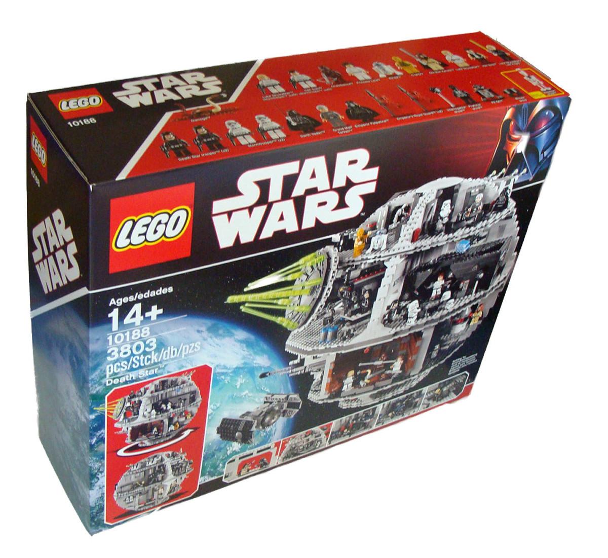 LEGO ® star wars 10188 étoile noire 3803 pièces 14