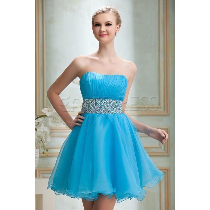 robes bleues de bal , robes de soirée de cocktail, robe de soirée