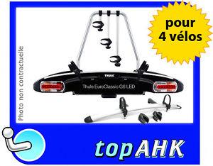 Porte velos pour 4 velos THULE Euro Classic G6 LED 929 13pin