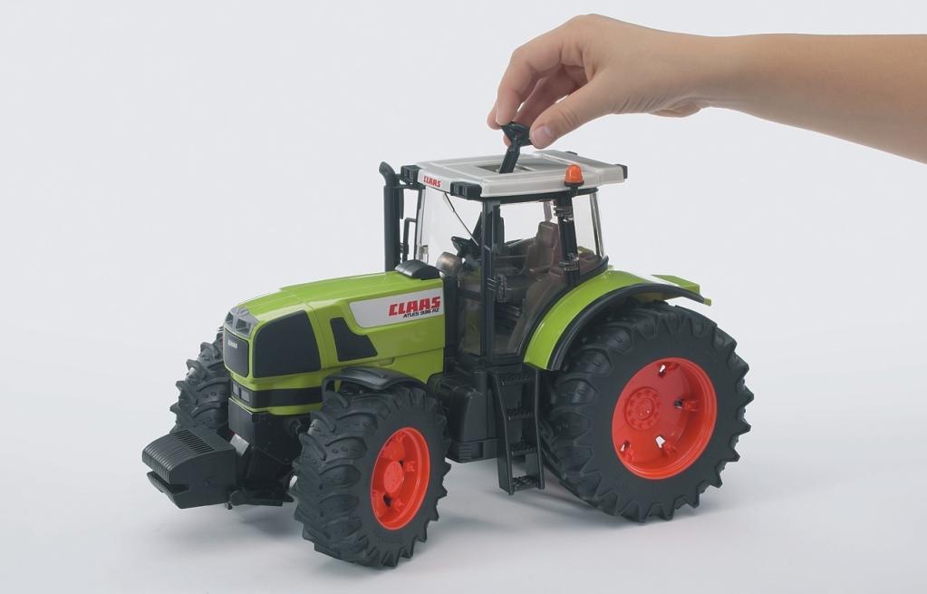 Bruder 3010 Véhicules sans piles Tracteur Claas Atles 936 RZ
