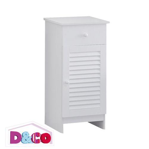 Petit meuble de rangement blanc de pas cher Achat / Vente meuble