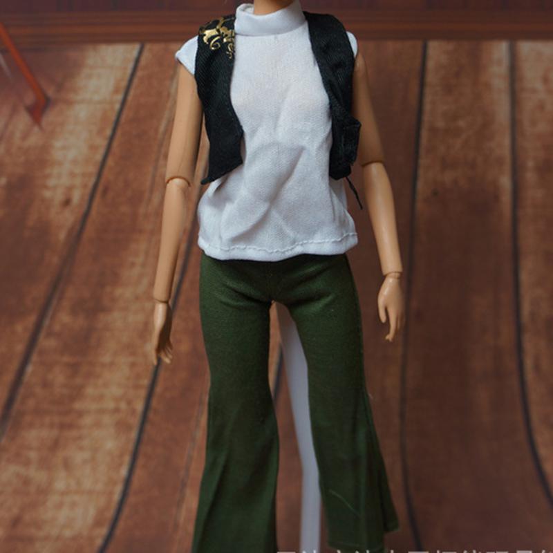 Set Poupées Mannequins Vêtements Robe Pantalon Accessoires pour