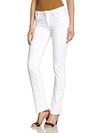 Lee Jeans Droit Femme Blanc (PURE WHITE) W26/L31