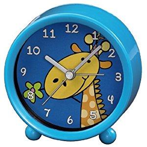 Hama 00113931 Réveil pour enfant (Bleu/motif girafe)