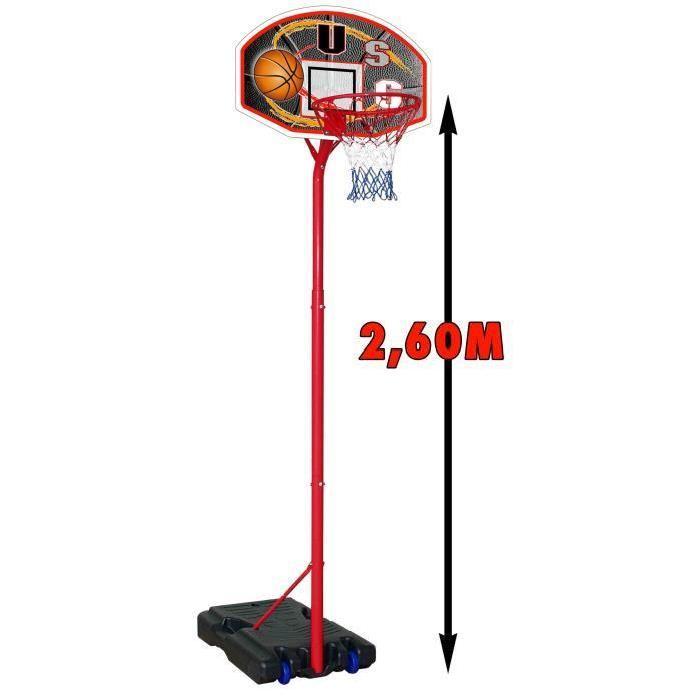 USG Panneau Basket sur pied 2.60m Achat / Vente panier de basket