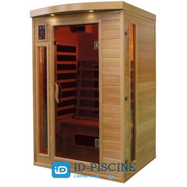 Sauna Infrarouge Bois Hemlock Astral 2 places ??PROMO??