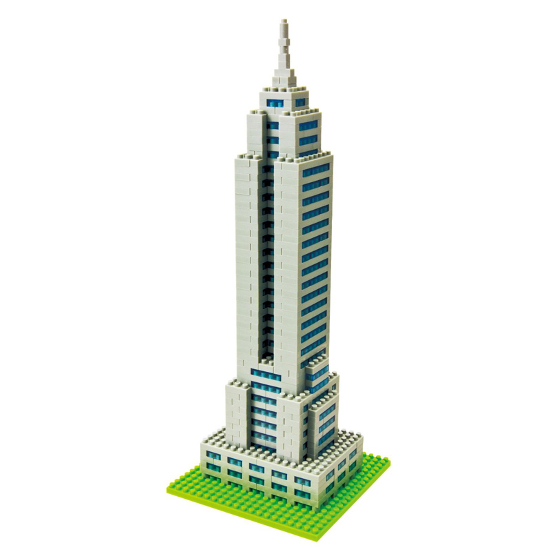 : Nanoblock Empire State Building 3D Puzzle (with FREE UK DELIVERY