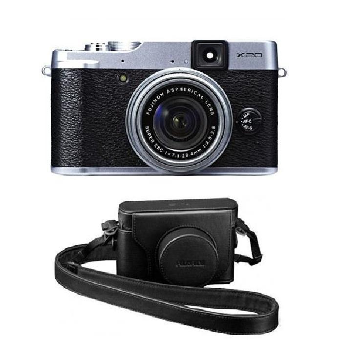 FUJI X20 Silver + ETUI Achat / Vente appareil photo compact