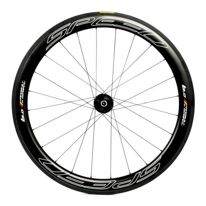 Veltec Speed 6.0 FCC Roue vélo de route noir Prix pas cher