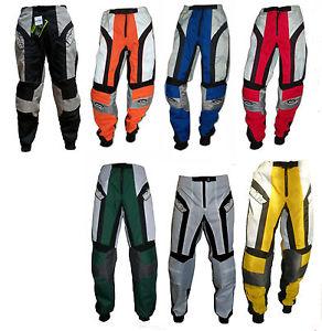 Pantalon moto cross quad dh bmx pour ENFANT DE 6 7 8 9 10 12 13 14 ANS